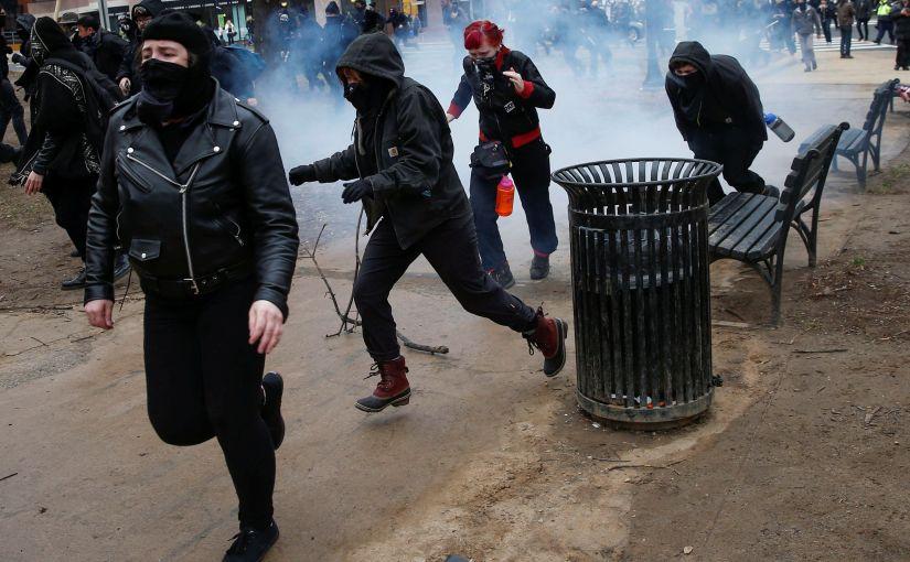 Trump supporter nearly KILLED by Antifa terrorist outside NYC venue: Where's theMEDIA?