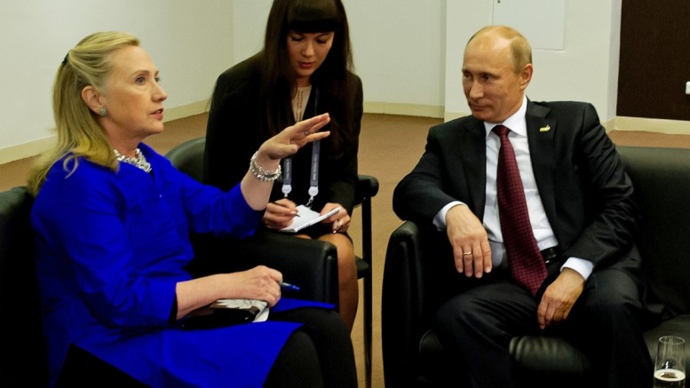 Dossier proves there WAS Russian collusion in last year's election — byClinton