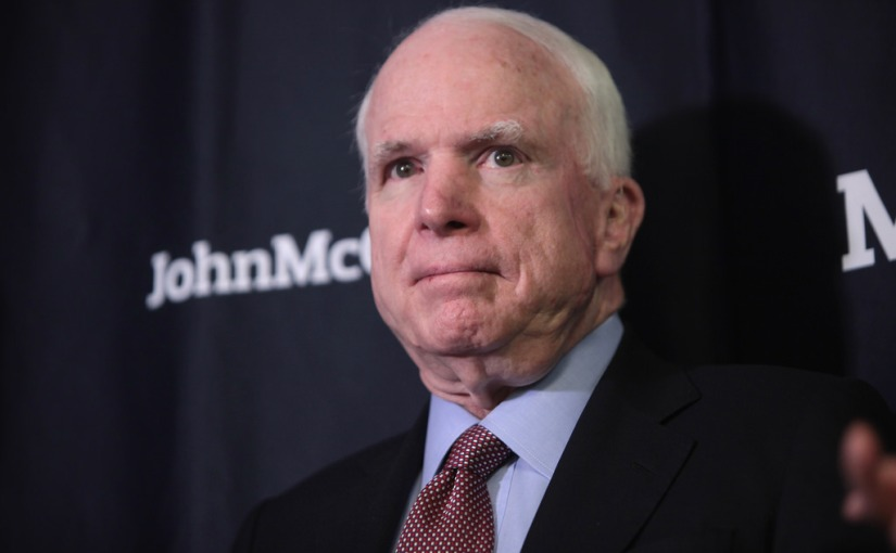 Memo to McCain: Of course Trump Tower was under surveillance; what did Obama know and when did he know it should be yourquestion