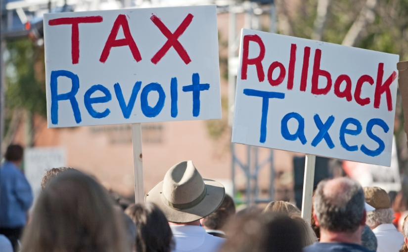 Study: Yeah, Americans are OK with lower taxes AND less govt.spending