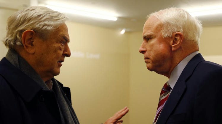 Report: McCain 'foundation' bears striking resemblance to corrupt Clinton family foundation – including taking money from GeorgeSoros