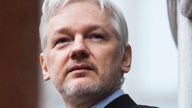 Assange says he'll provide evidence Russian collusion, hacking narrative FALSE in exchange forpardon