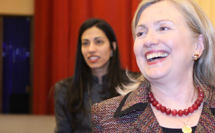 CRIMINAL: Top Hillary Aide Huma Abedin forwarded State Dept. passwords to Yahoo email acct. before it was HACKED by Russians andothers
