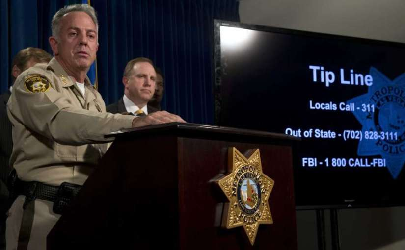 2ND 'person of interest' was sought in LAS VEGAS shooting case; criminal investigationONGOING