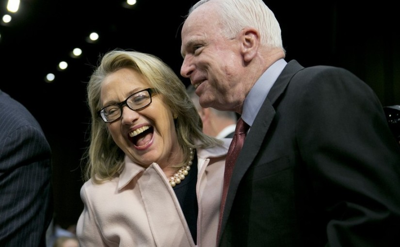 Memo to Deep Statist John McCain: YOU are 'helping Putin' with this bogus 'Russia collusion' probe YOU HELPEDSTART