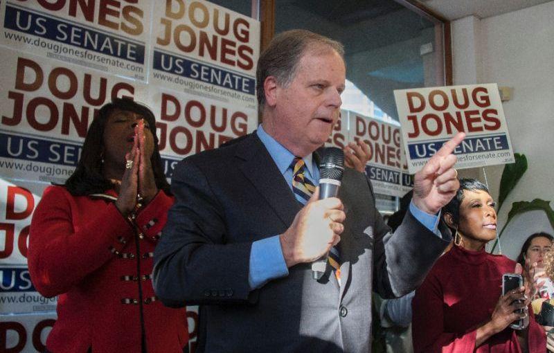 Doug Jones, a Democrat, WINS Alabama Senate Race; GOP majority hangs by aTHREAD