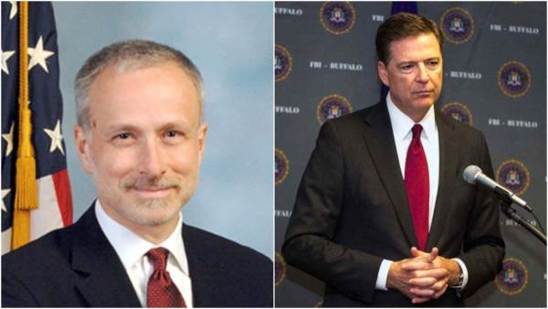 SHAKE-UP at FBI: Director Wray removes suspected LEAKER and Comeyconfidant