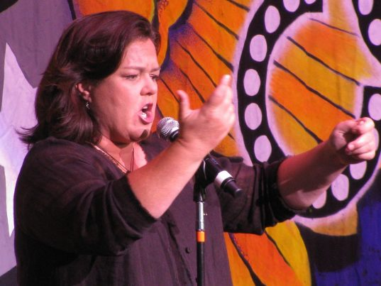 That time when Rosie O'Donnell committed aFELONY