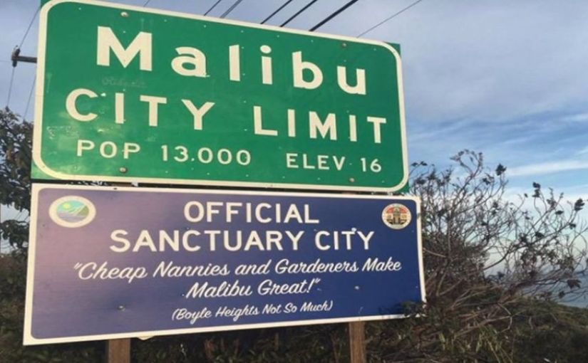 Mystery signs appear in 'Sanctuary State' California; WELCOME illegal aliens, felons, GANGmembers