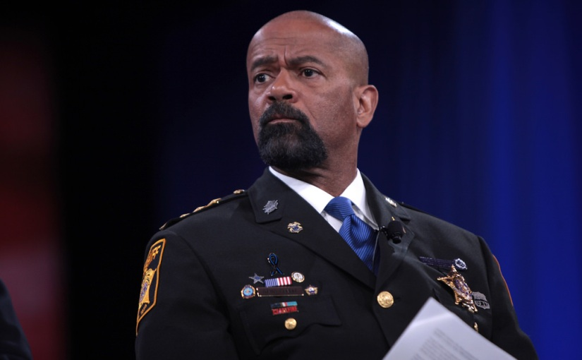 PETTY: Former Milwaukee Sheriff Clarke to face TRIAL after calling man a 'snowflake' on socialmedia