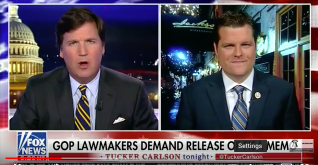 Gaetz: FISA Memo will PROVE that Mueller investigation is all Trump says it is – a 'ROTTEN witch hunt'(Video)