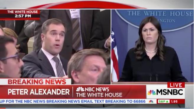 Huckabee Sanders TORCHES mainstream media HACK for attempting to blame school shooting onTRUMP