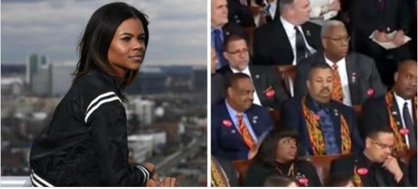 Black writer/activist: Congressional Black Caucus' behavior during SOTU address show they are 'slaves to DemocraticParty'