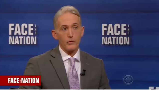 Gowdy: House Intel Committee ONLY looking at 'maybe five' FBI officials, NOT entire bureau(Video)